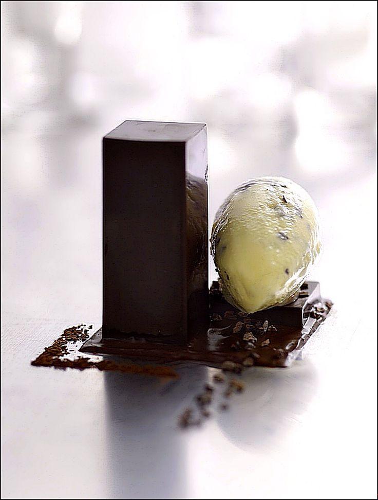 L'art de dresser et présenter une assiette comme un chef de la gastronomie... #plating #presentation #chocolate