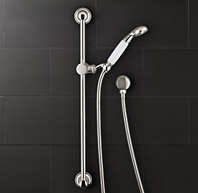 RHu0027s Eaton Wall Mount Handheld Shower:Inspired By Vintage Bespoke Bath  Fittings From Britain, Eaton Fixtures Are Crafted In Europe And America  With ...