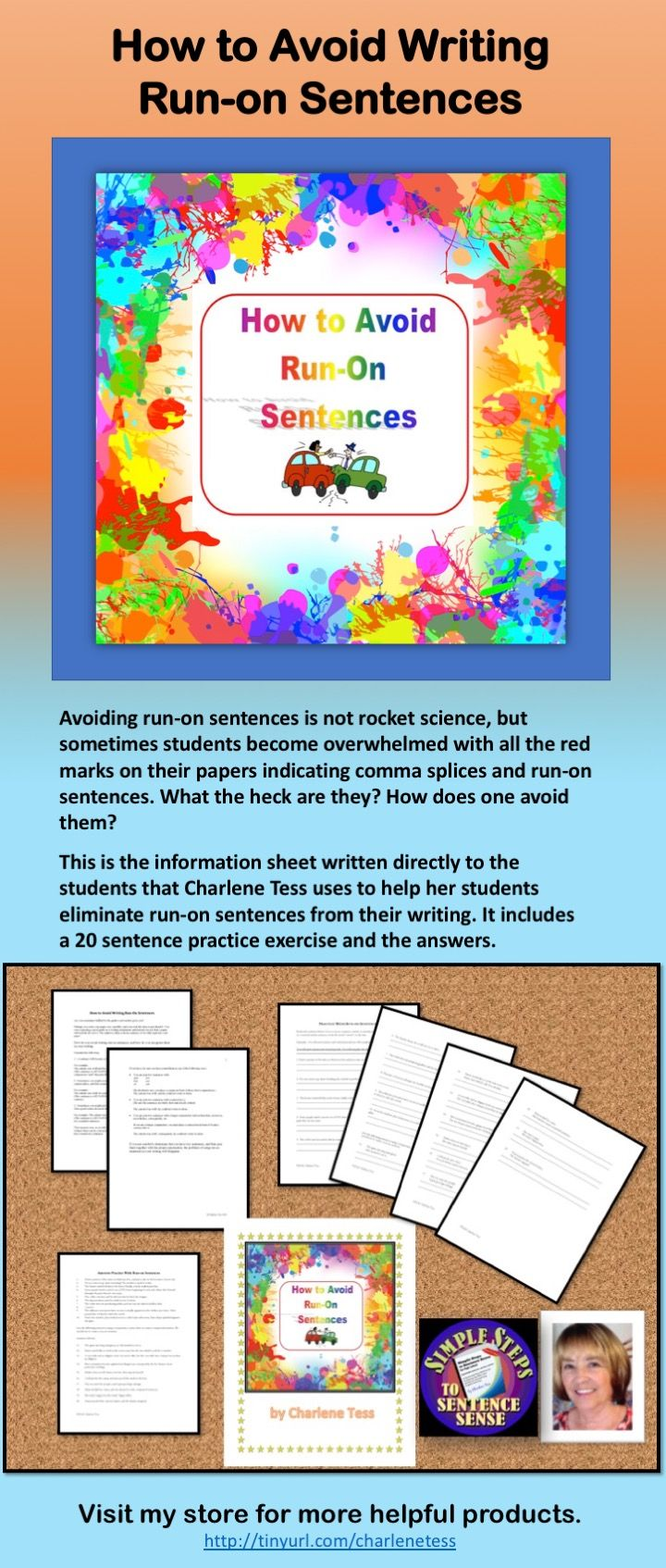 Avoid Run On Sentences In Your Writing Grammar Worksheets For Distance Learning Run On Sentences Sentences Grammar Worksheets