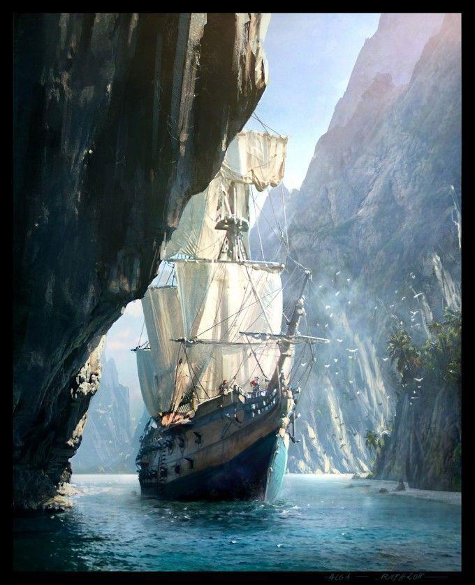 Details zu Assassins Creed Vier Schwarze Flagge Piraten