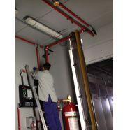 Instalação de sistema de combate a incêndio -O sistema contempla alarmes e outros dispositivos que combatem o incendio. Confira mais no link!