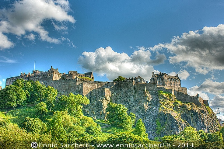 Edimburg Castle in HDR