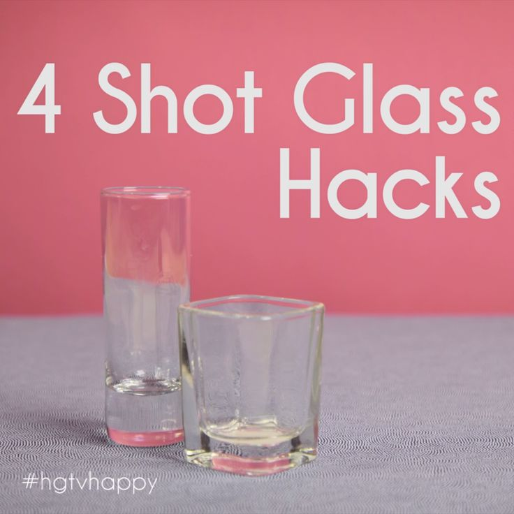 4 Clever Ways to Use Shot Glasses