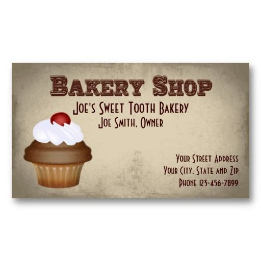 The 19 best cake decorating business cards images on pinterest bakery shop baker business card colourmoves