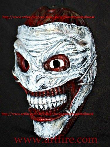 Joker mask halloween costume cosplay Batman Arkham movie prop MA173