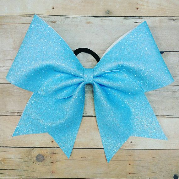 Check out this item in my Etsy shop https://www.etsy.com/listing/534637943/light-blue-cheer-bow-baby-blue-cheer-bow