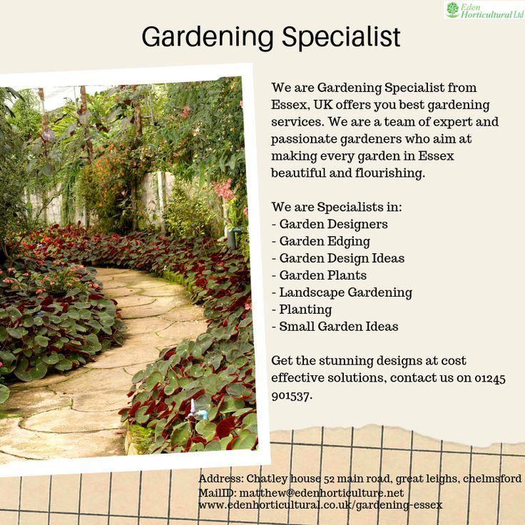 Gardening Specialist Garden Services Small Gardens Garden Design