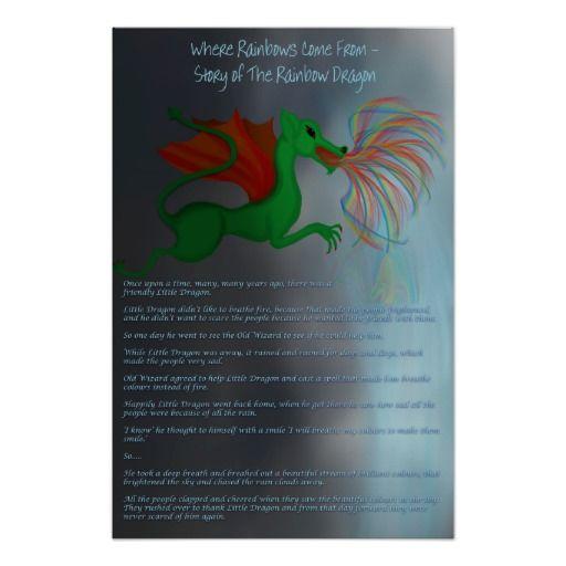 Rainbow Dragon - Where Do Rainbows Come From?