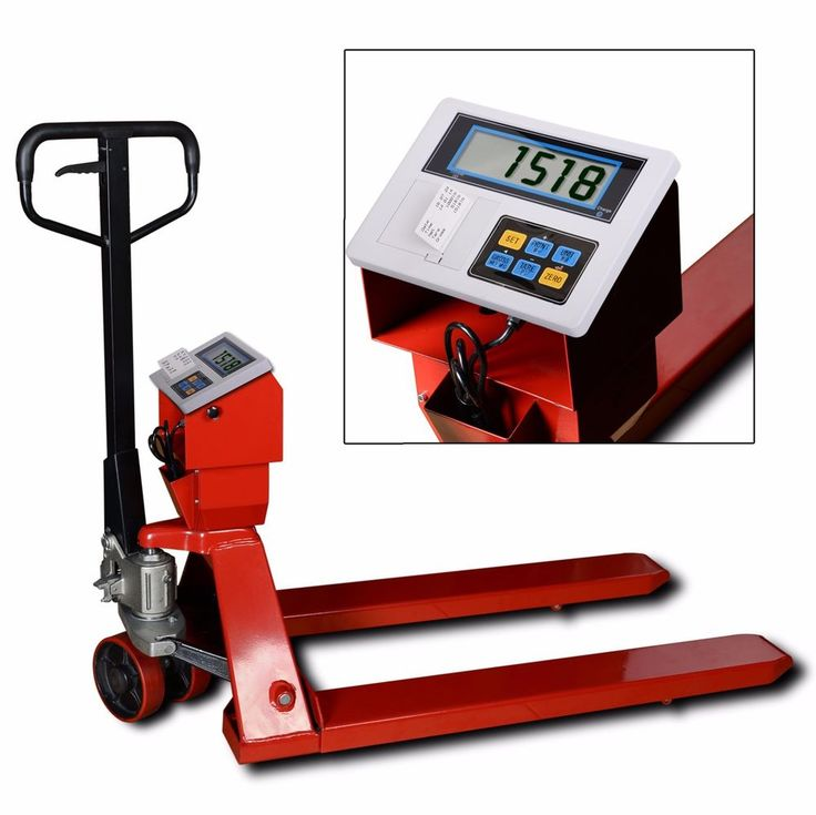 5000lb/1lb Pallet Truck / Pallet Jack / Pallet Scale with Printing Indicator/ Pr #PrimeScales
