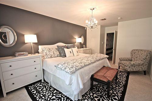 perfected romantic bedroom