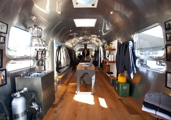 Aether Apparel sets up shop in a renovated Airstream