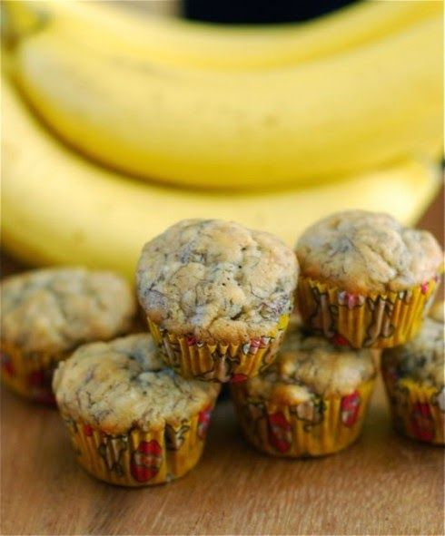 Honeybee Homemaker: Whole Wheat Banana Muffins Healthy and Clean Eating 21-Day Fix approved