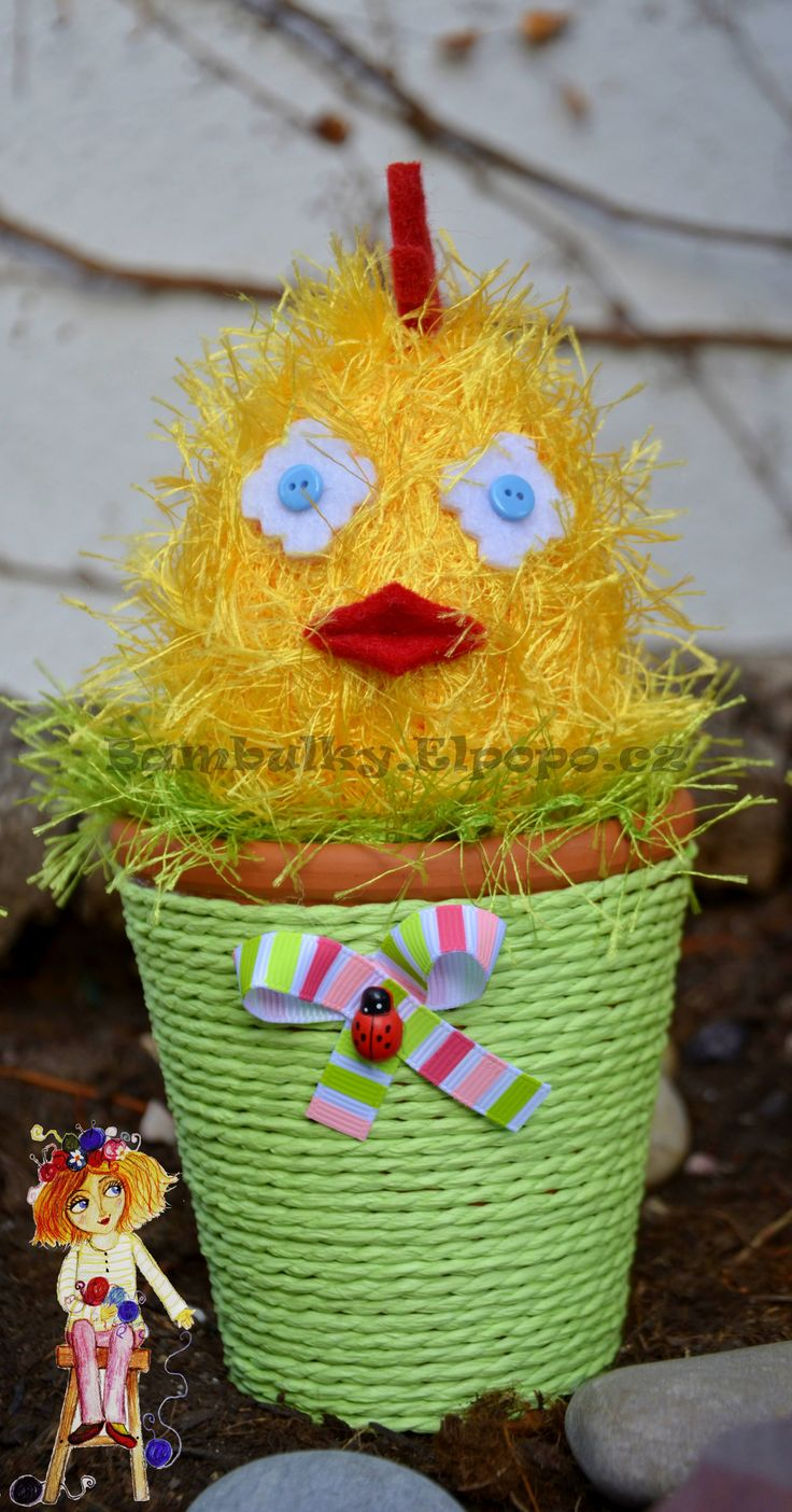 Easter Chicken Yellow