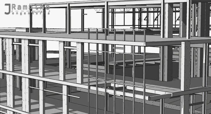 Projetos de Estabilidade - Seja em Betão Armado, Madeira, Aço, Mista ou Aço Leve, o Projeto de Estabilidade é parte essencial para a execução de um bom projeto no qual o projetista define e analisa uma solução estrutural especifica, com as características resistentes necessárias de forma a garantir a funcionalidade, durabilidade e segurança da obra