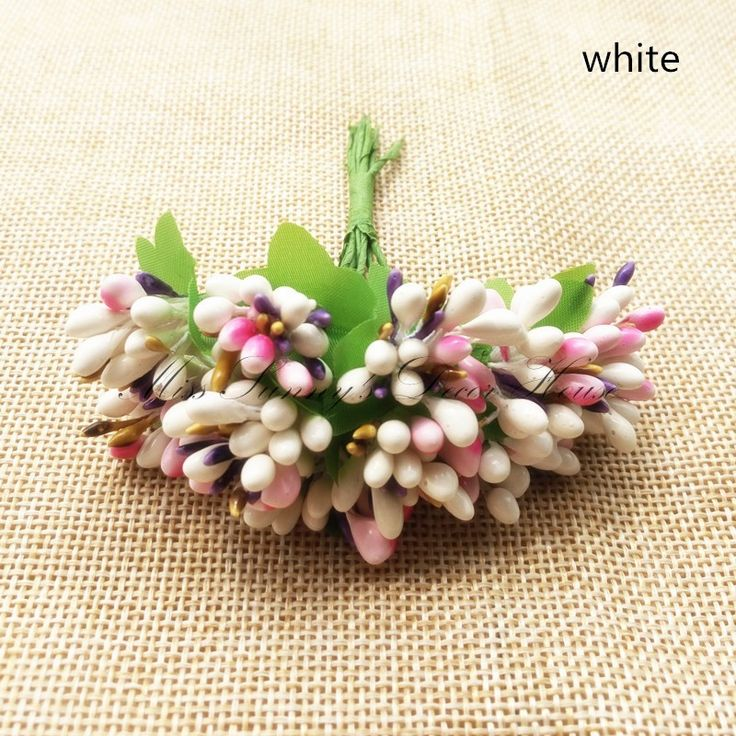 The 162 best artificial flower images on pinterest weddings bodas 100pcslotcolored berry flower with leaves artificial beads flower wedding decoration diy craft hawaii party decoration from reliable flower planter junglespirit Choice Image