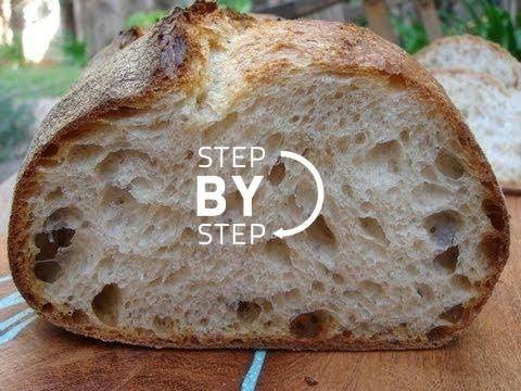 Sourdough Bread Recipe, Sourdough Starter, Sourdough Bread Baking, Sour ... - YouTube