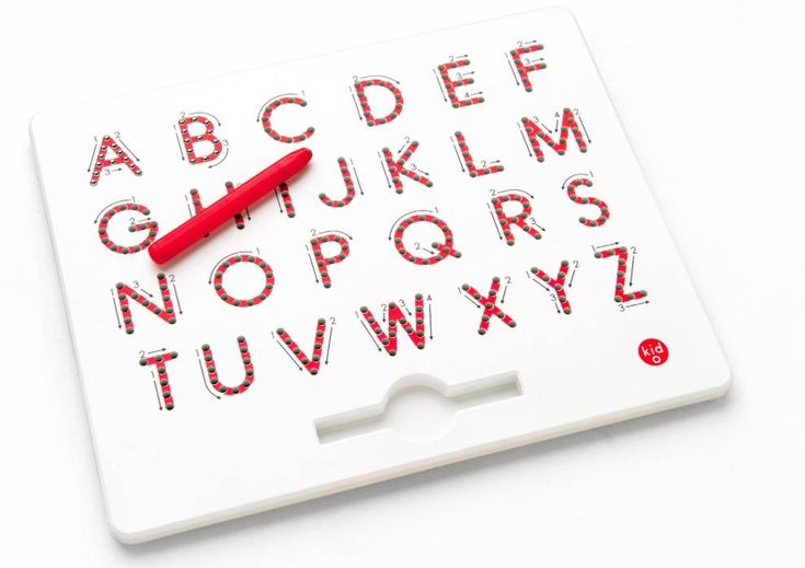 kid O Magnatab A-Z grote letters
