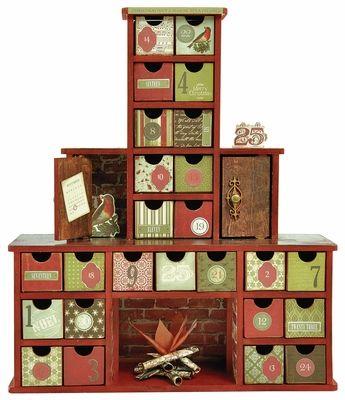 Chimney Advent Calendar Advent Calendar Advent