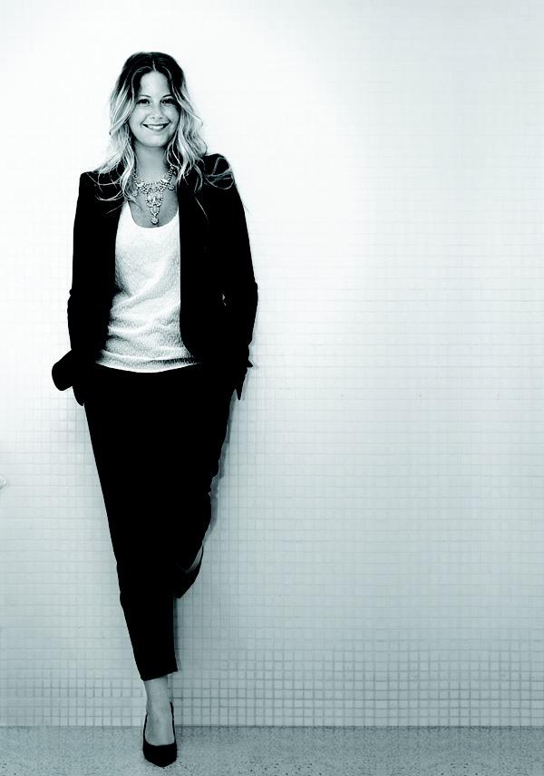 The Coveteurs' Erin Kleinberg for FLARE magazine.