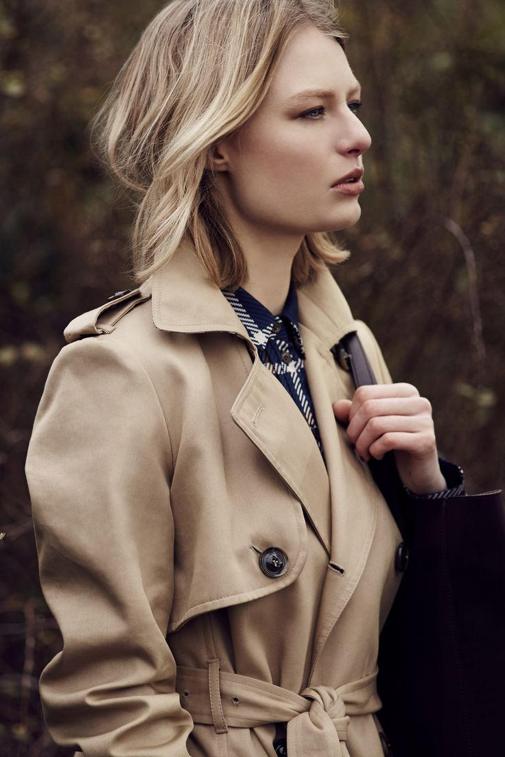 Make sure you are fully kitted out for this autumn with the on trend Best of British Trench Coat.