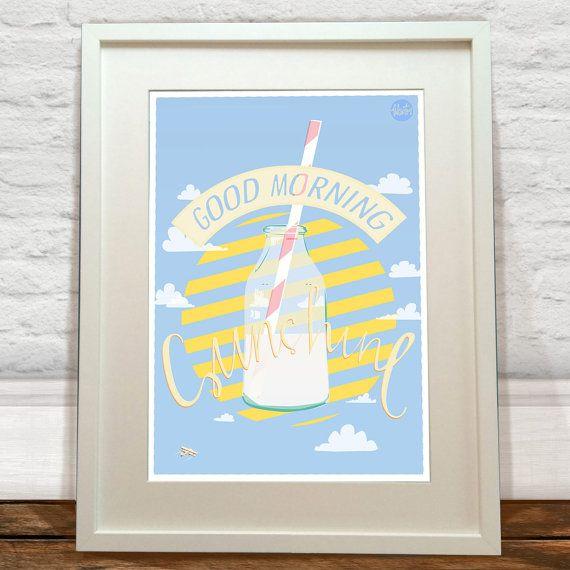 Good Morning Sunshine Art Print by FelicityMildred on Etsy, £7.00