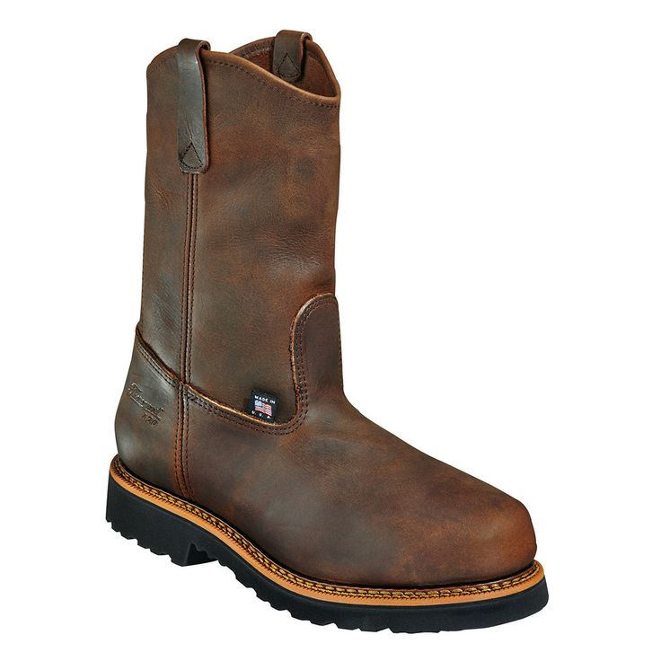 11'' Wellington Safety Toe Boots