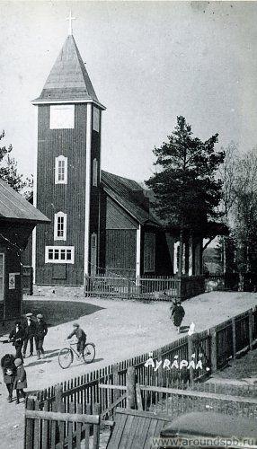 Яюряпяя (Барышево) Äyräpää. Церкви Карелии