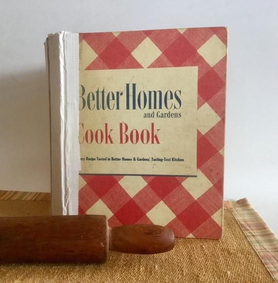 Better Homes And Gardens Red And White Cookbook