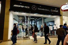 Mercedes-Benz Retail Group pop-up shop drives success