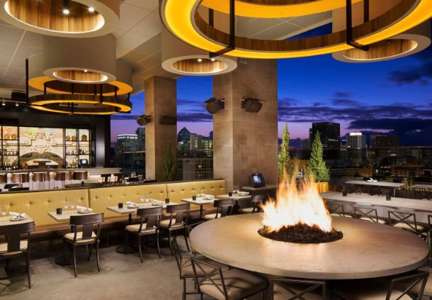 rooftop bar and lounge  - Courtyard San Diego Gaslamp/Convention Center | CA 92101
