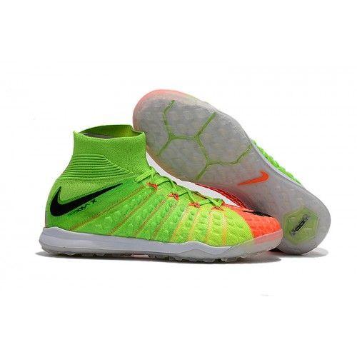 Kopačky Nike Hypervenom Phantom III DF TF Zelená Černá Oranžový Prodej