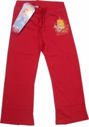 Pantalon oficial Disney Princes cu Sleeping Beauty, 50% bumbac, 50% poliester.