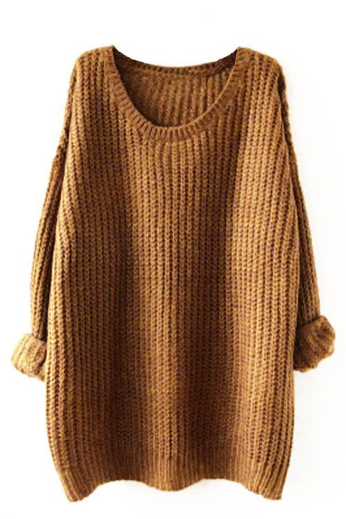 Cupshe Cup of Cozy Casual Sweater
