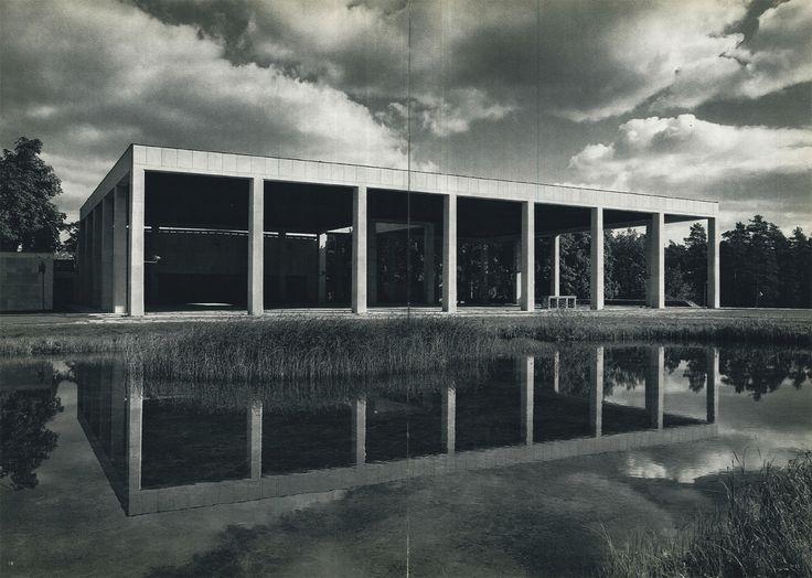 Erik Gunnar Asplund  Woodland Crematorium Portico,Skogskyrkogården, Stockholm, Sweden, 1935-40.