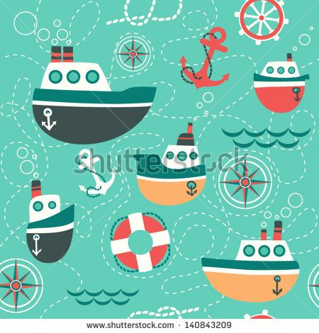 quotpatr243n sin fisuras de los s237mbolos marinos barco ancla