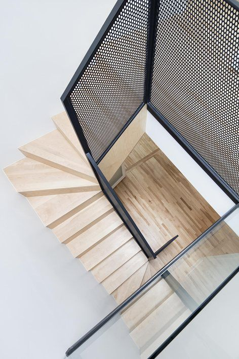 Love the grate railing Résidence McCulloch, Montreal, 2015 - _naturehumaine [architecture+design]