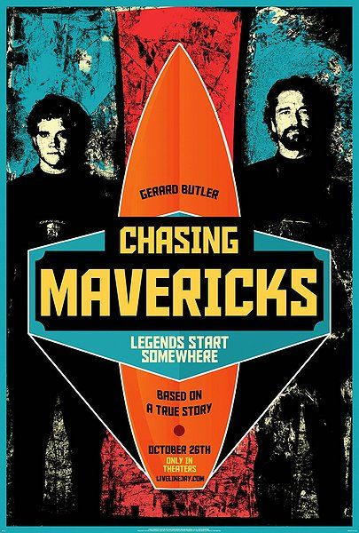 Chasing Mavericks is a film I'll watch. Not sure that it will be worth the effort.