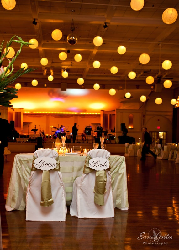 This Sweetheart Table Right In The Center Of Ballroom Floor Allows For To Tablerhodesballroomswedding
