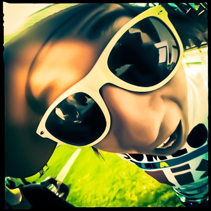 Got my sunglasses on 'cos it's Summer!