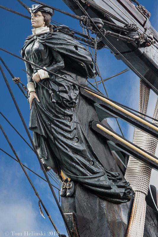 Sailing Ship Figurehead #figurehead