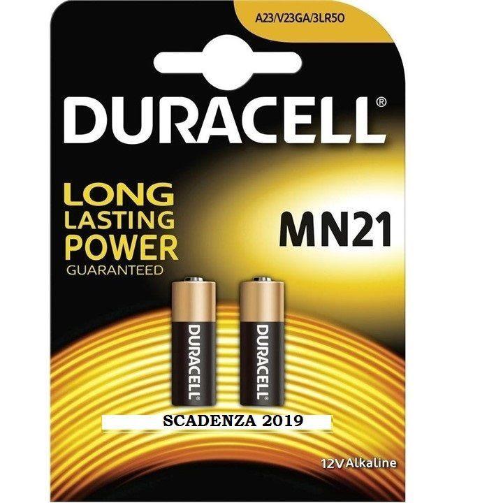 2X BATTERIA DURACELL MICROSTILO MN21 12V 2pz. Pila alcalina A23 V23GA 3LR50 100%
