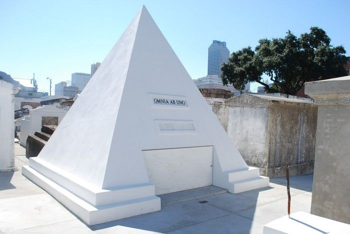 Nicolas Cage Owns A Pyramid Tomb In St. Louis Cemetery