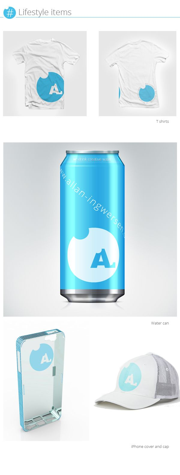 Design concept for the A. on Behance