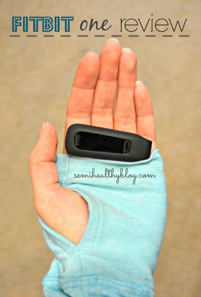 fitbit one Review - Diary of a Semi-Health Nut