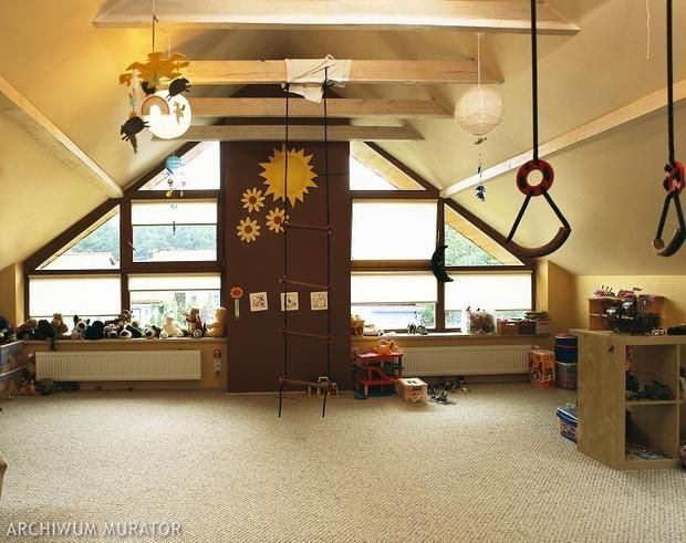 Jak urządzić pokój dziecka na poddaszu? 14 aranżacji pokoju dziecięcego - ZDJĘCIA - str. 1 - Wnętrza - Muratordom.pl