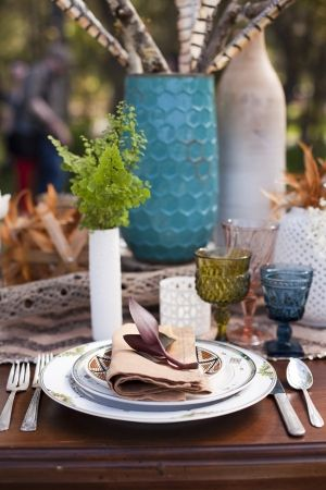 Bohemian Chic table by AlchemyFineEvents.com, photo by LunaPhoto.com