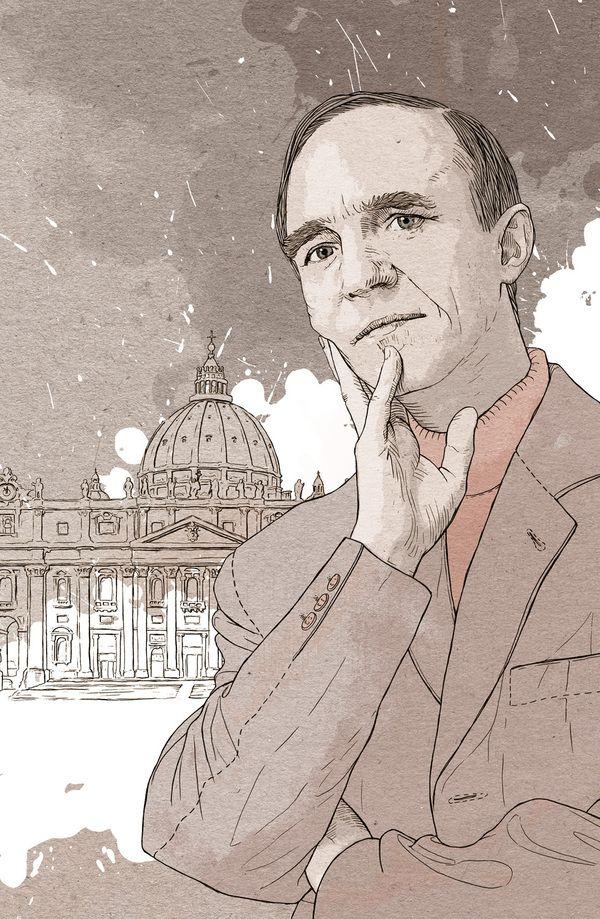 Stanislaw Obirek for Przekroj by Bartosz Kosowski, via Behance
