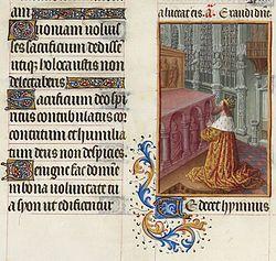 El salmo 54 (Musée Condé, Chantilly).
