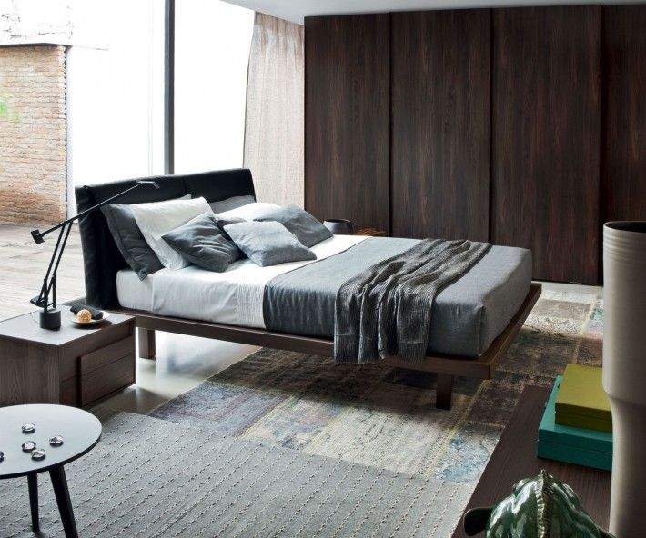 24 best Design Möbel in Holzoptik images on Pinterest - modernes bett design trends 2012