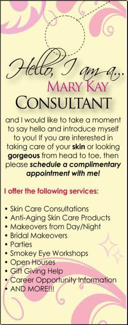 Get with me for a complimentary facial!  Http://www.marykay.com/MelissaMora